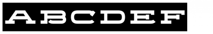 Telemark Label Bold Font LOWERCASE