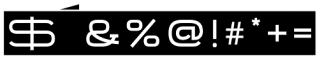 Telemark Label Font OTHER CHARS