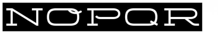 Telemark Label Font UPPERCASE