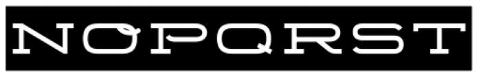 Telemark Label Font LOWERCASE