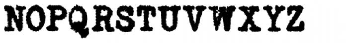 Telepath Extreme Font UPPERCASE
