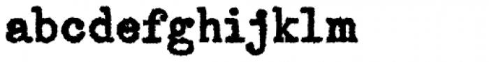 Telepath Extreme Font LOWERCASE