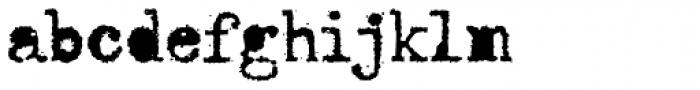 Telepath Loaded Font LOWERCASE