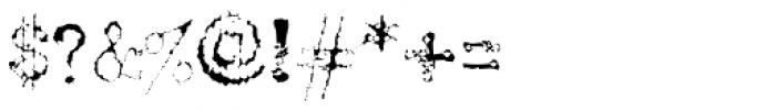 Telepath Zero Font OTHER CHARS