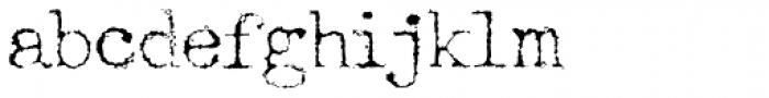 Telepath Zero Font LOWERCASE