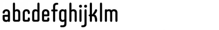 Telepod One SG Medium Font LOWERCASE
