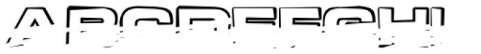 Teletron Copy High Font UPPERCASE