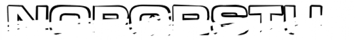 Teletron Copy High Font LOWERCASE