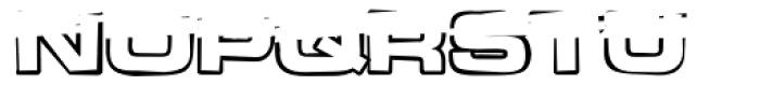 Teletron Copy Low Font UPPERCASE