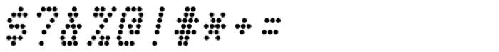 Telidon Bold Italic Font OTHER CHARS