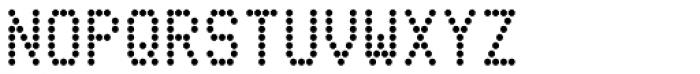 Telidon Bold Font UPPERCASE