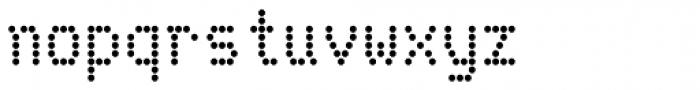 Telidon Bold Font LOWERCASE