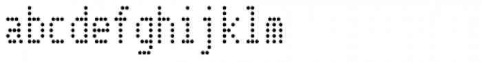 Telidon Cond Font LOWERCASE