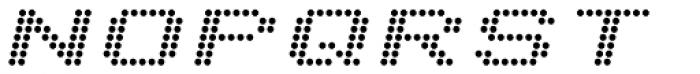 Telidon Extended Bold Italic Font UPPERCASE
