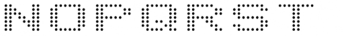 Telidon Extended Font UPPERCASE