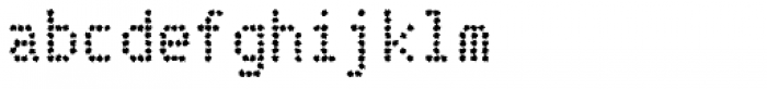 Telidon Ink Bold Font LOWERCASE