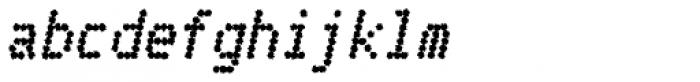 Telidon Ink Heavy Italic Font LOWERCASE