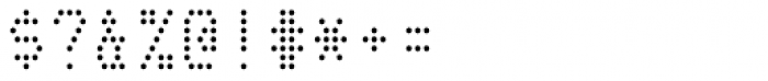 Telidon Font OTHER CHARS