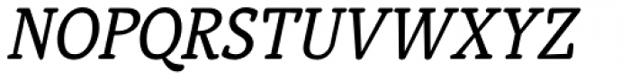 Telltale Italic Font UPPERCASE