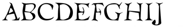 Temble Std Font UPPERCASE