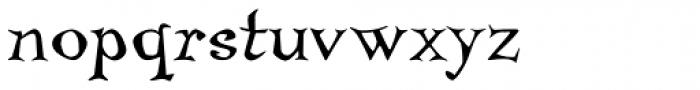 Temble Std Font LOWERCASE