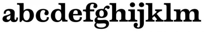 Temeraire Bold Font LOWERCASE