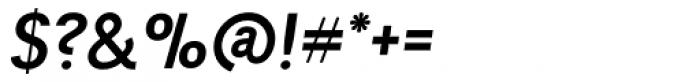 Tempelhof Bold Oblique Font OTHER CHARS