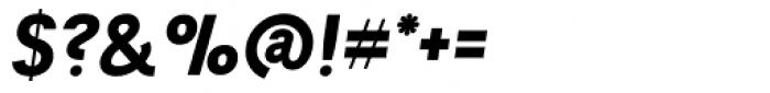 Tempelhof Heavy Oblique Font OTHER CHARS