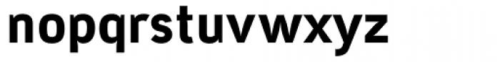 Tempelhof Heavy Font LOWERCASE