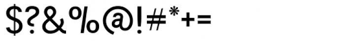 Tempelhof Medium Font OTHER CHARS