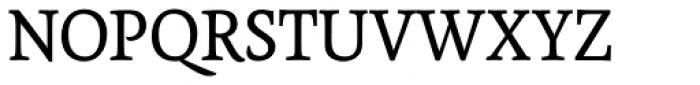 Tempera Biblio Pro Book C Font UPPERCASE
