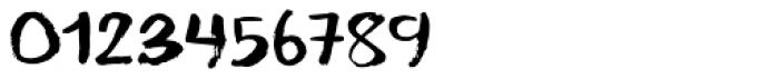 Temperamental Regular Font OTHER CHARS