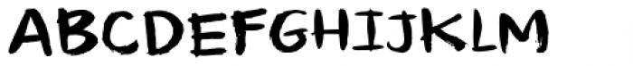 Temperamental Regular Font UPPERCASE