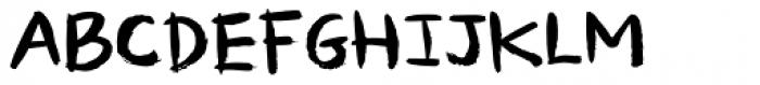 Temperamental Regular Font LOWERCASE