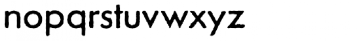 Tempo Grunge Font LOWERCASE