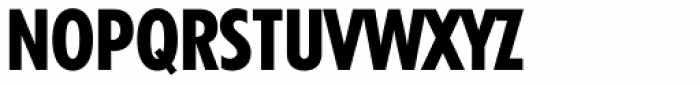 Tempo Heavy Condensed Font UPPERCASE