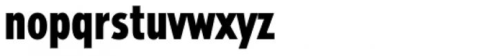 Tempo Heavy Condensed Font LOWERCASE