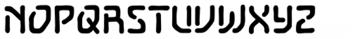 Temporal Gap Bold Font UPPERCASE