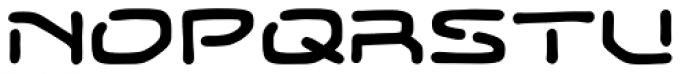 Temporal Gap Expanded Regular Font UPPERCASE