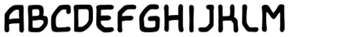 Temporal Shift Bold Font UPPERCASE