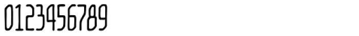 Temporal Shift Condensed Regular Font OTHER CHARS
