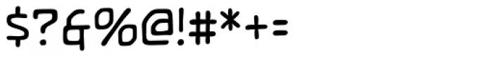 Temporal Shift Regular Font OTHER CHARS
