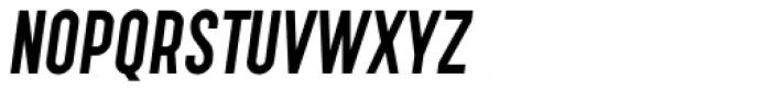 Tempus Gothic Alternate Oblique Font UPPERCASE