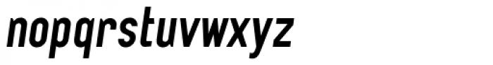 Tempus Gothic Alternate Oblique Font LOWERCASE