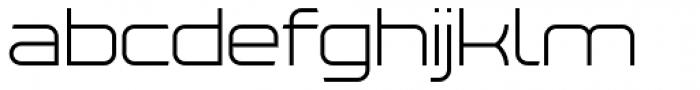 Tenby Seven Light Font LOWERCASE