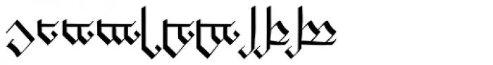 Tengwanda Gothic Font OTHER CHARS