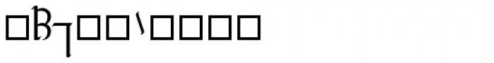 Tengwar Transliteral Regular Font OTHER CHARS