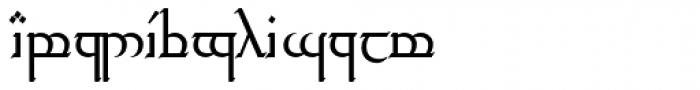 Tengwar Transliteral Regular Font UPPERCASE