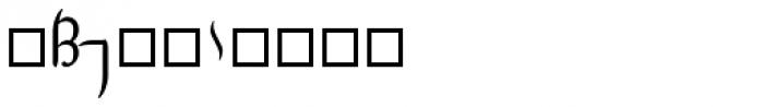 Tengwar Transliteral Script Font OTHER CHARS