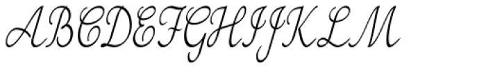 Tenison Font UPPERCASE